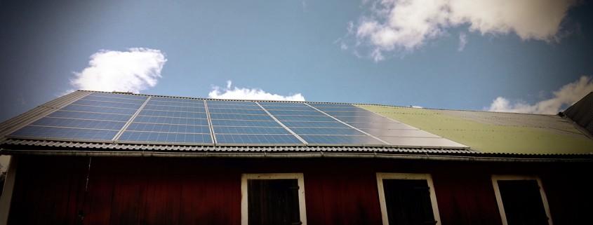 Bilder från avklarade solcellsanläggningar!