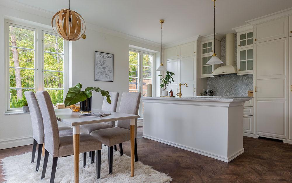Bilder från renovering/tillbyggnad i Spånga