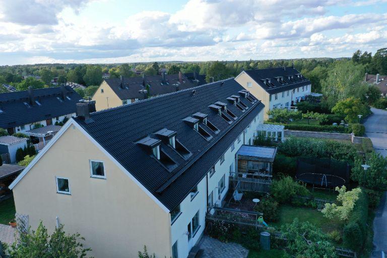 Radhuslänga 600 m2 - Kälvesta, Vällingby