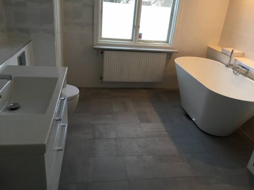 Bilder på avklarade badrumsrenoveringar!