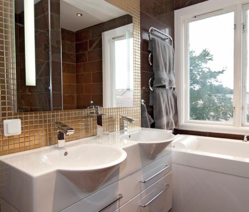Bilder från ett avklarat badrum!