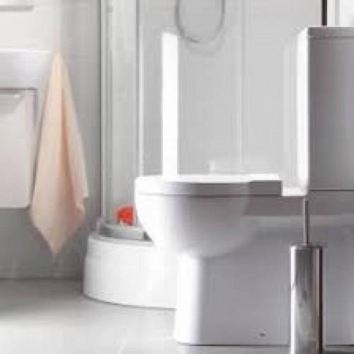 Toalettstol kompakt Nano